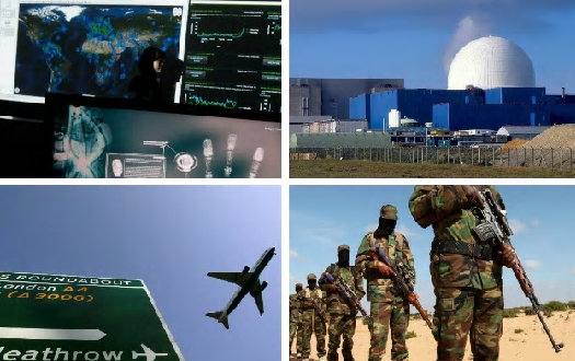 Airports and nuclear power stations on terror alert as government officials warn of credible cyber threat