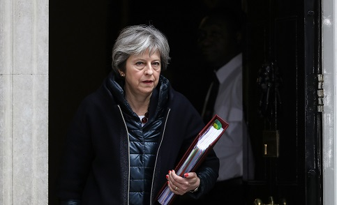 May Is Said to Tell Allies to Beware Russia: Expel Putin's Spies