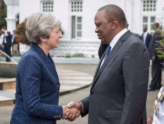 Kenyan president rebukes May