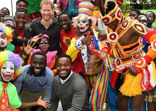 Harry tells of his complete joy during tour of Zambia