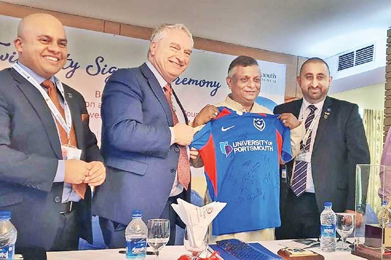 Portsmouth and Sylhet in Bangladesh become sister cities