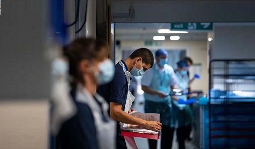 Record NHS waiting lists will continue to grow, Javid warns