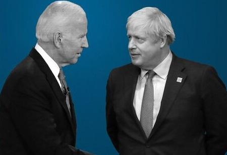 Johnson and Biden hold Afghanistan evacuation talks ahead of G7 meeting